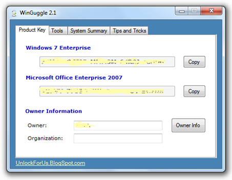 windows 7 product key hack